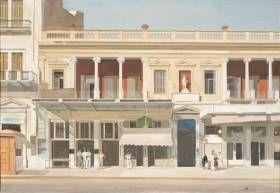 Εχουμε την εντύπωση ότι γνωρίζουμε το έργο του Γιάννη Τσαρούχη. Σφάλλουμε. Η έκθεση στο Μουσείο Μπενάκη της οδού Πειραιώς 138 το αποδεικνύει περίτρανα. Η ζωγραφική του, ναι, μας είναι οικεία, μέσα από πολλές δημοσιεύσεις, αλλά και χάρη στην αχλύ που ακόμη προκαλεί ο μύθος του ίδιου του Τσαρούχη.