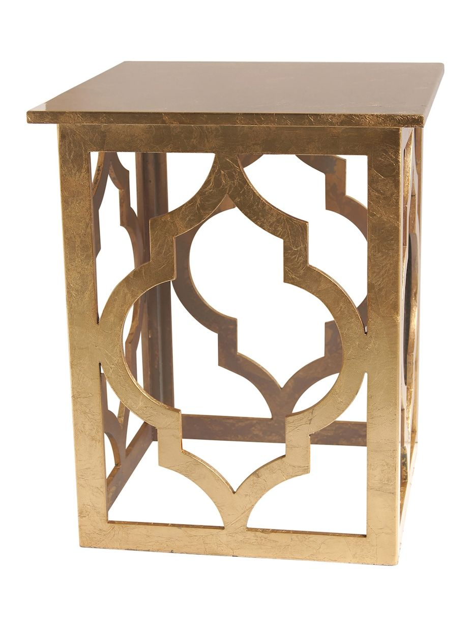 World wide home furnishings moroccan style accent table women