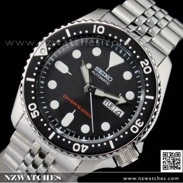 BUY Seiko Automatic Screw Down Crown 200M Divers Watch SKX007K2 SKX007 -  Buy Watches Online  181add880