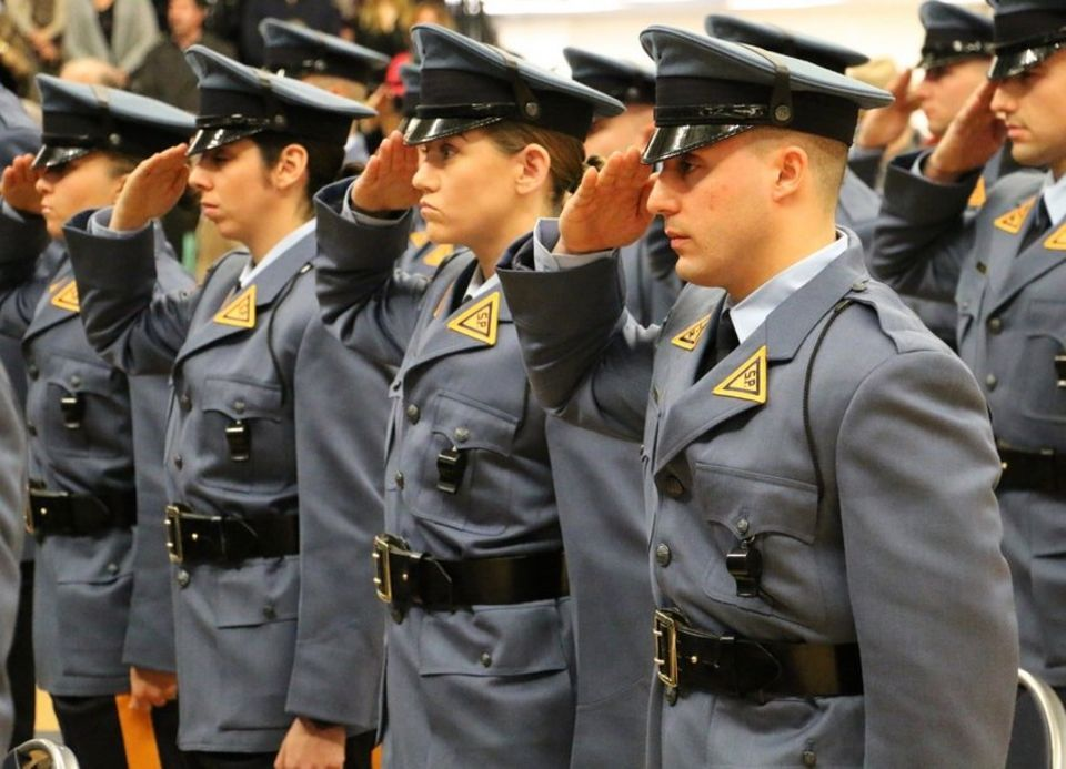 109 Recruits Graduate From New Jersey State Police Training Academy Photos State Police Police Police Jobs