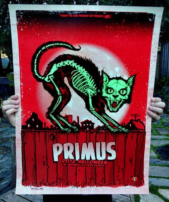 INSIDE THE ROCK POSTER FRAME BLOG: Zoltron Primus Atlanta Halloween Poster Release Details