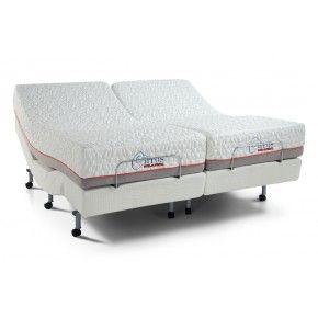 Power Bob With Cirrus Gel Dual King Set Adjustable Beds Matress Bed
