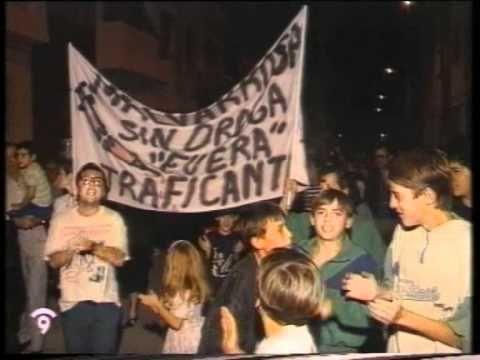 Manifestaciones Barrio Malvarrosa año 1991 Parte 1 de 4