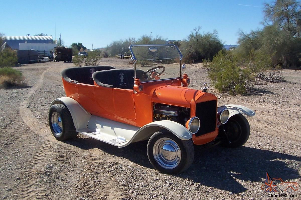 Up for sale  A 1924 Model T touring hot rod  All original