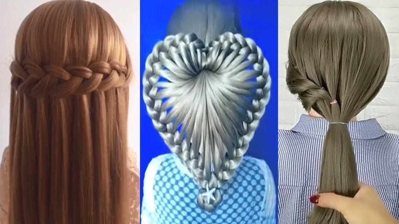 Trenzas Corazon Para Cabello Largo Peinados Faciles Y Rapidos Bonitos Con Trenzas Para Toda Hair Styles Hair Dreadlocks