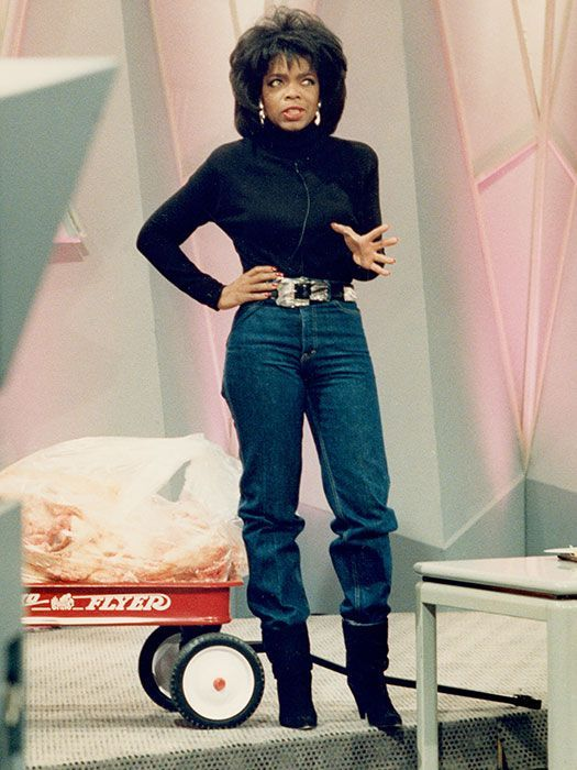 Oprah WInfrey in the 90's