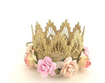Lace Crown Design your own FLOWER crown by lovecrushbowtique