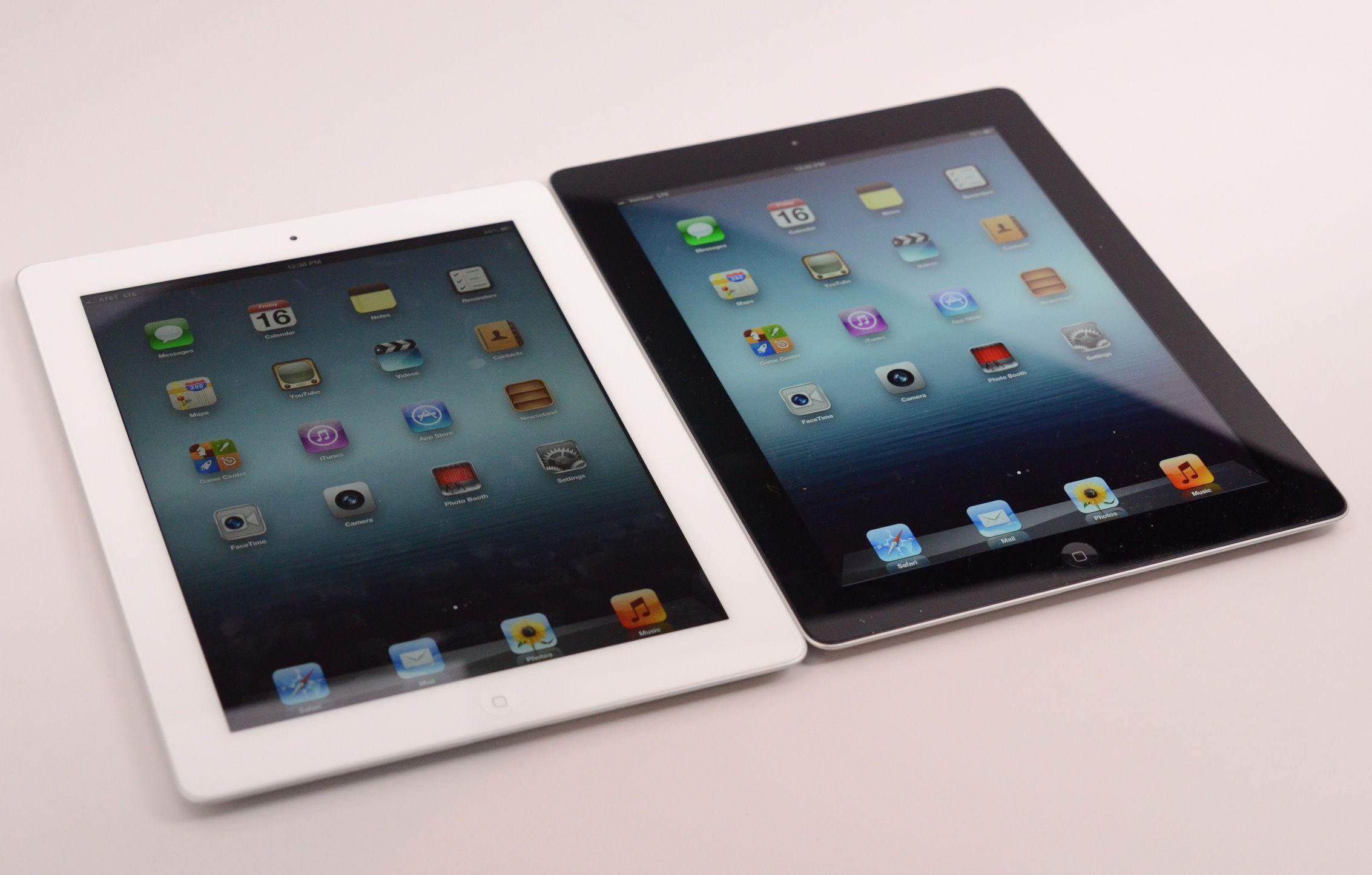 Comparativa entre los iPad de tercera y cuarta generación | Apple ...