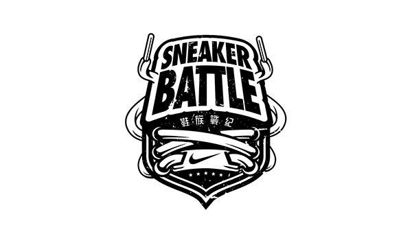 Sneaker Battle On Behance Shoe Logo Design Logo Design New