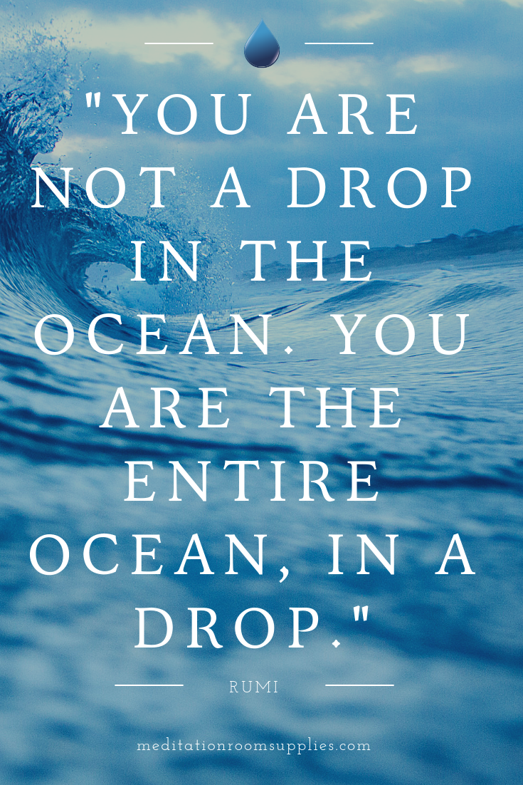 You Are Not A Drop In The Ocean You Are The Entire Ocean In A Drop