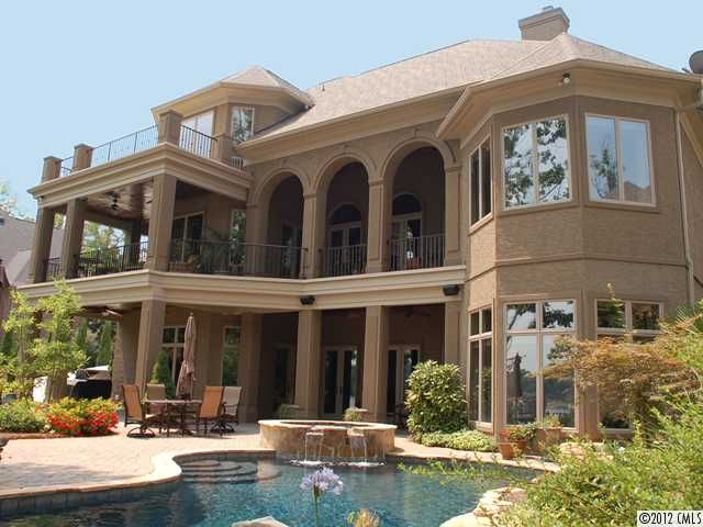 The Point Waterfront Home For Sale In Mooresville Nc On