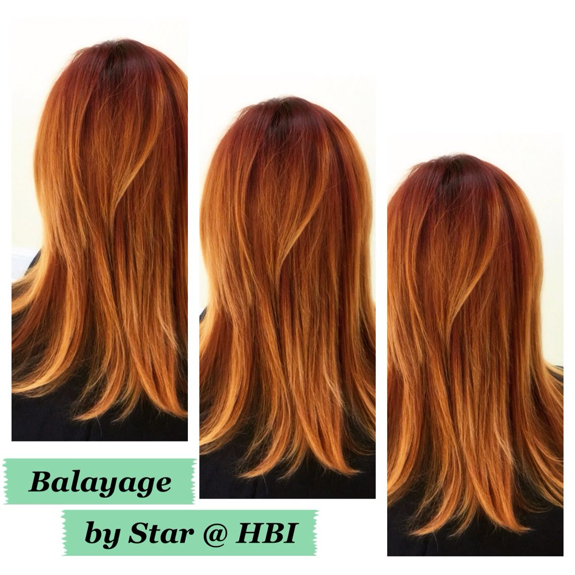 Red Balayage Hair Color Hair Benders Internationale