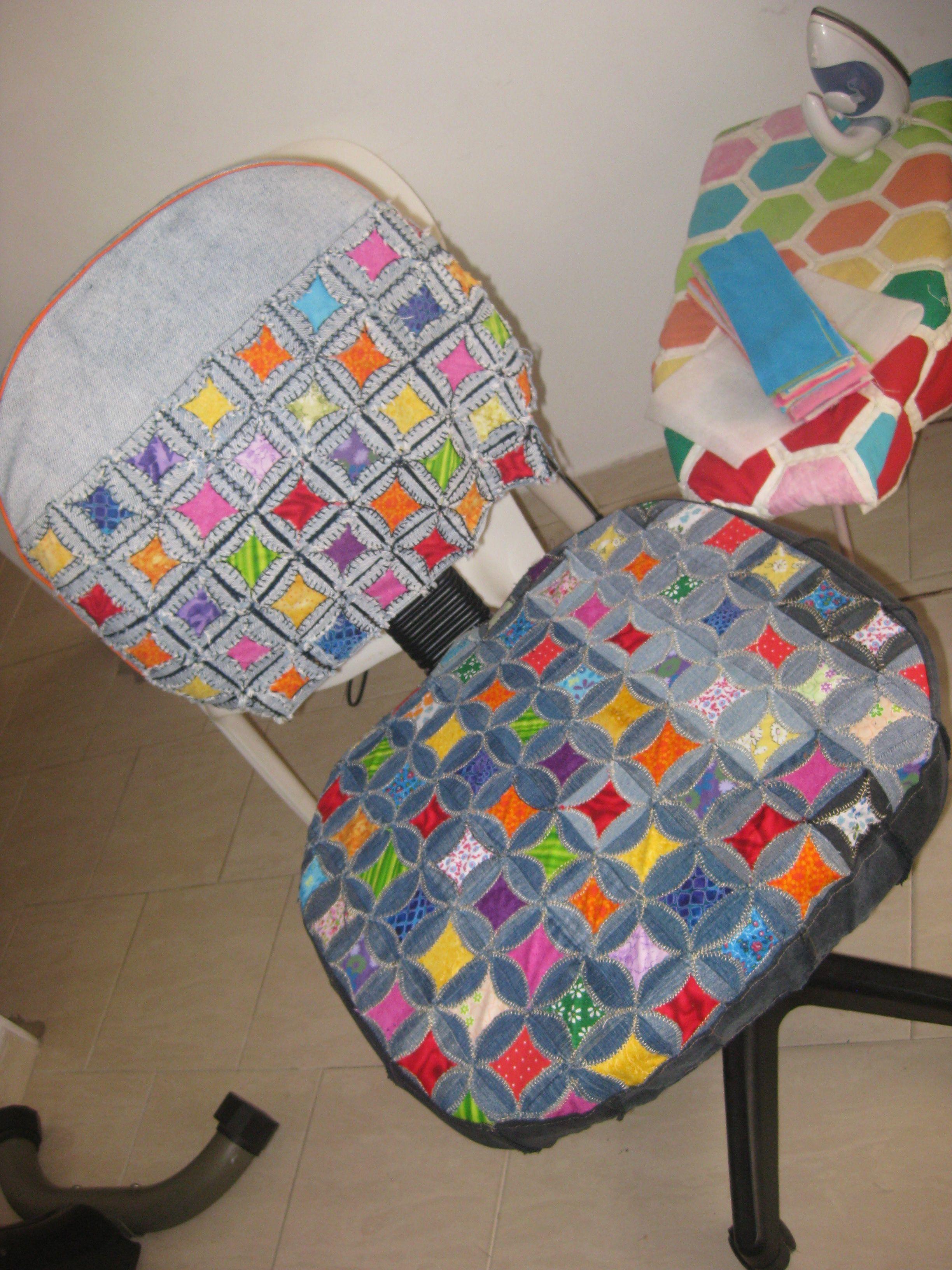 forro silla en jean