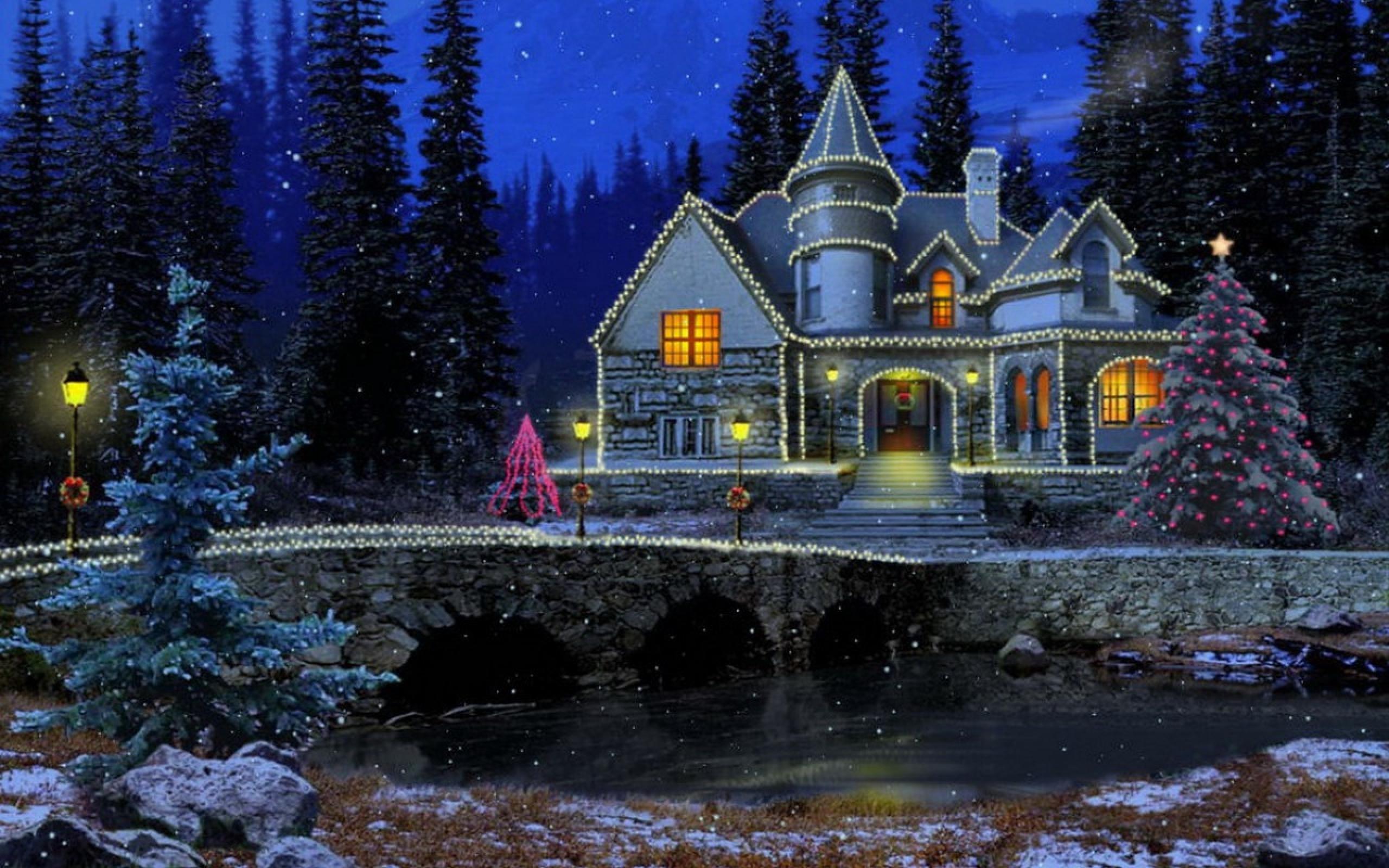 новогодняя ночь анимационные картинки донских