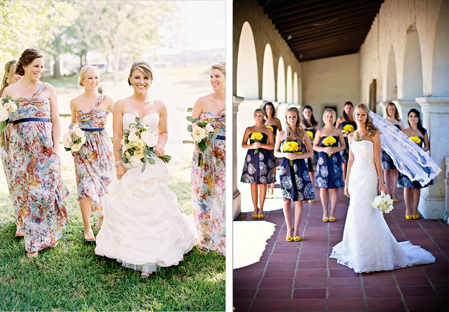 1000  images about Bridesmaids on Pinterest  Floral patterns ...
