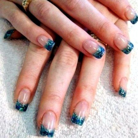 French Nail Designs Glitter Gel Nails French Nail Designs Gel Nail Tips