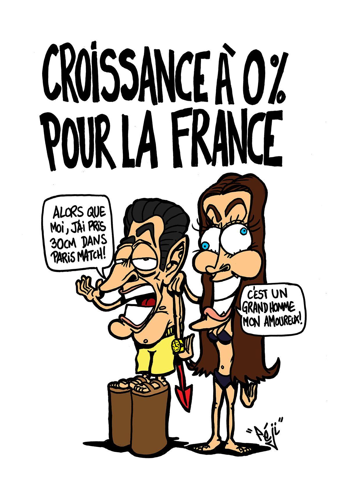 Peji Caricature Carla Bruni Et Nicolas Sarkozy Font La Couv De Paris Match Paris Match Caricature Dessin De Presse