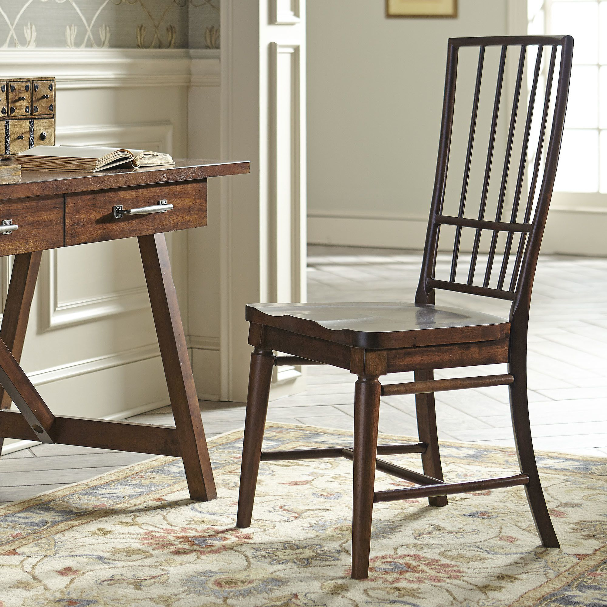 Lisbon Rake-Back Dining Chair | Solid wood dining chairs