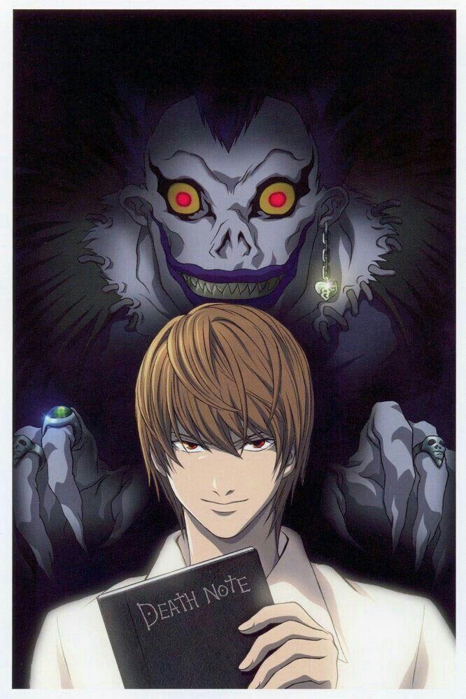 El mas inteligente nota de muerte Personajes de anime