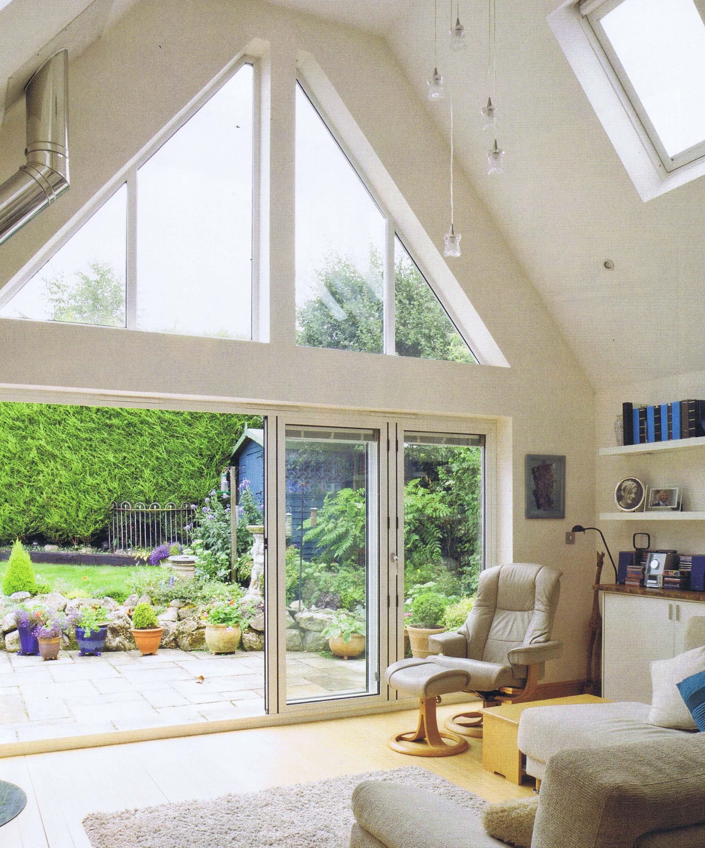Great Gable Feature Glazing Windows Exterior Bungalow Design Cottage Extension