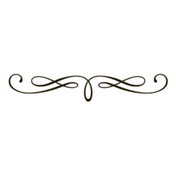 Fancy Underline Swirls Transparent Liked On Polyvore