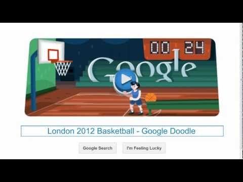 Basketball Google Doodle Lustig