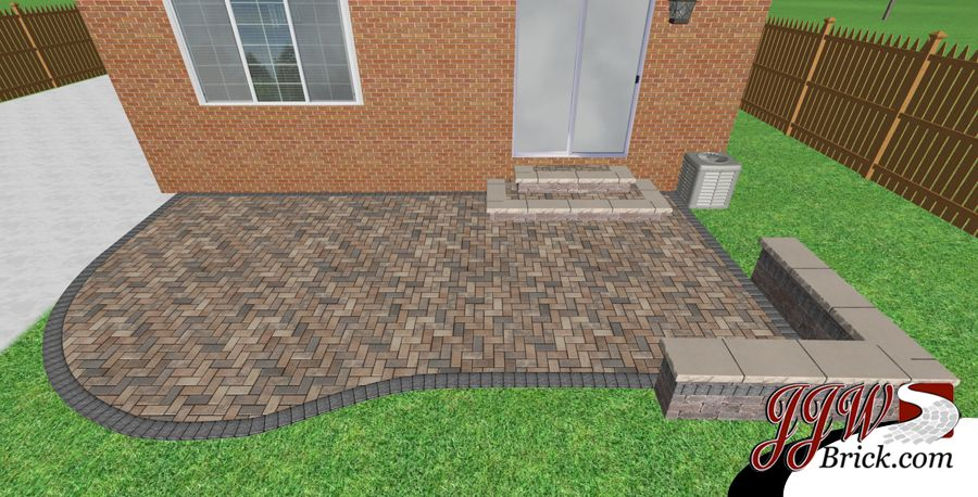Small Paver Patio Design In Birmingham Mi 48009 Patio Pavers Design Patio Design Patio