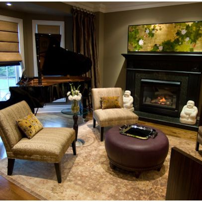 Decorating A Piano Room Design Pictures Remodel Decor And Ideas