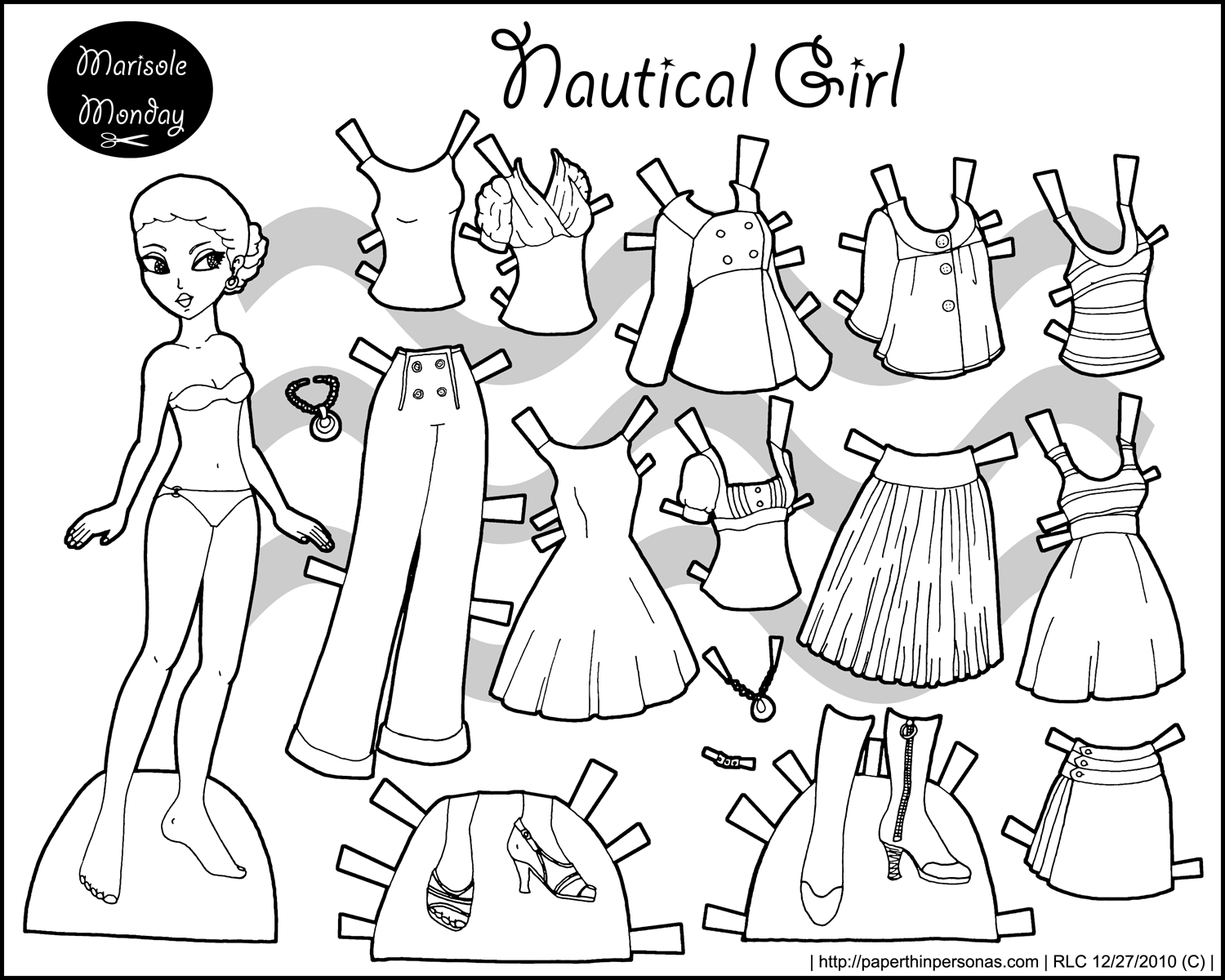 Thumbnail link image printable paper doll | Paperdolls✂ | Pinterest ...