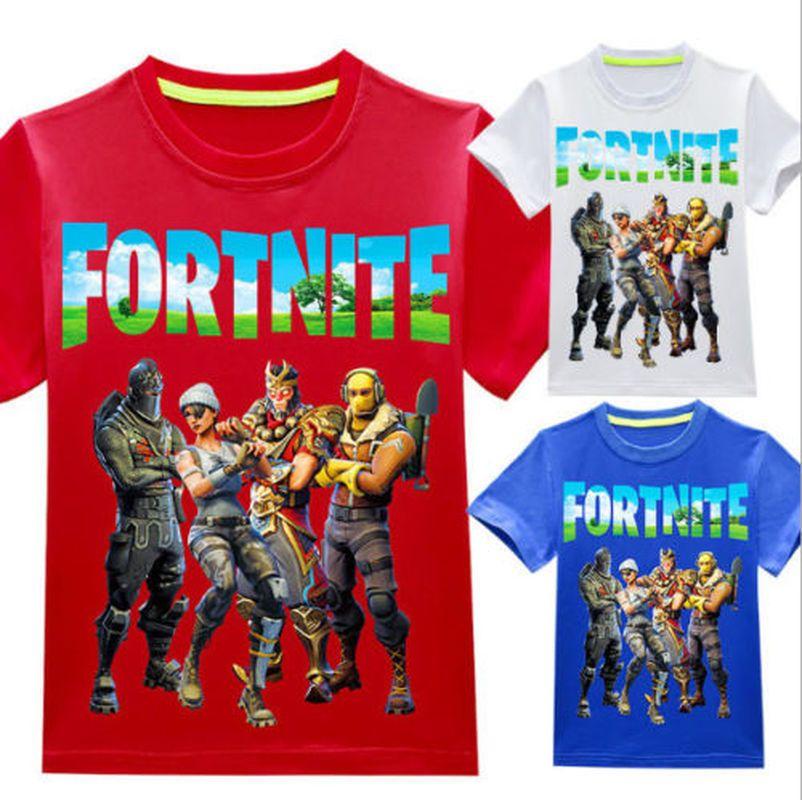 5b993d1a FORTNITE T-shirt Kids Boys/Girls Cotton Battle Royale Game Tees T shirts  Tops #fortnite #UK #game