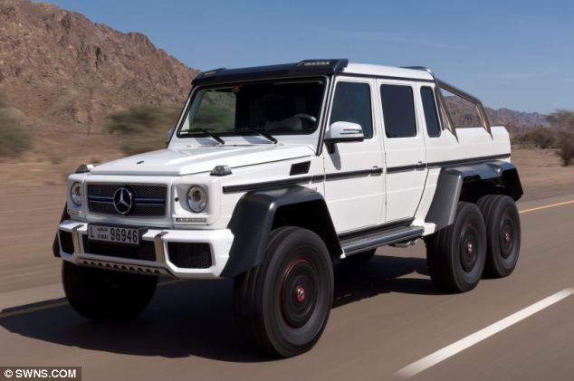 6 Wheel Mercedes G Wagon Cars Trucks And Planes Mercedes G63