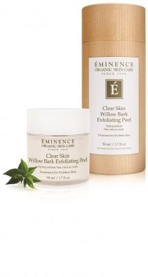 Clear Skin Willow Bark Exfoliating Peel Eminence Organic Skin Care Organic Skin Care Exfoliating Peel