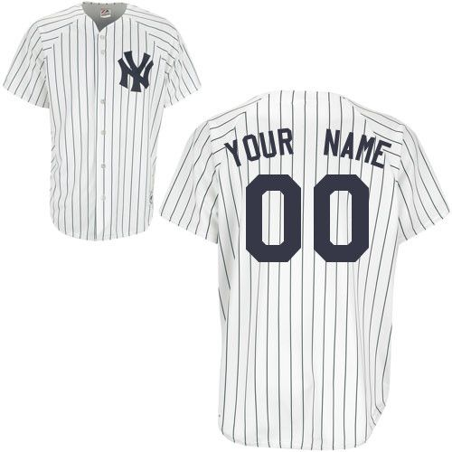 3348ded30 Personalize a BABY Yankees Jersey with any personal name and number of your  choosing. Available in newborn