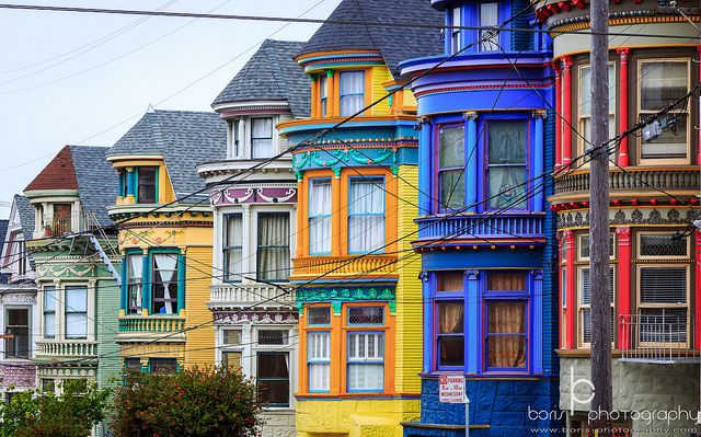 haight ashbury painted ladies in 2019 color me happy san rh pinterest com