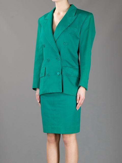 8ff896ab239 Yves Saint Laurent Vintage Skirt Suit - A.n.g.e.l.o Vintage - Farfetch.com