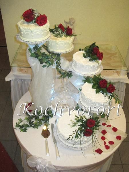 Konditorei Koblenz Hochzeitstorte  Kuchen Bild Idee