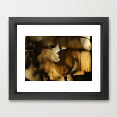 trapped in the autumn Framed Art Print by Guido Montañés - $37.00