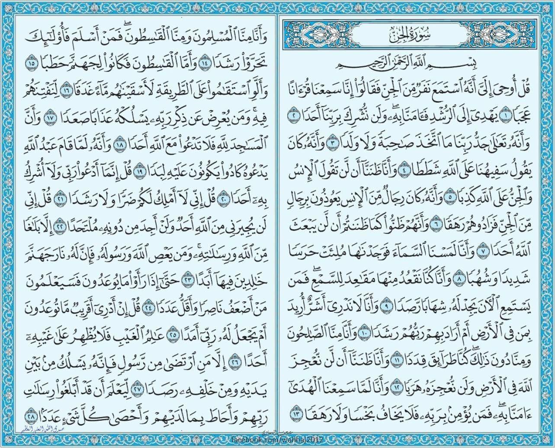 سورة الجن Holy Quran Book Quran Book Quran Verses
