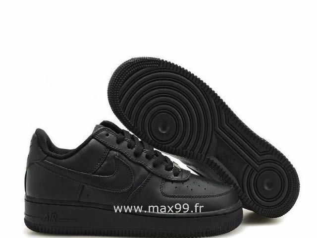 Conception innovante fbd22 2791f Nike Air Force 1 Basse '07 Noir Chaussure pour Femme Air ...