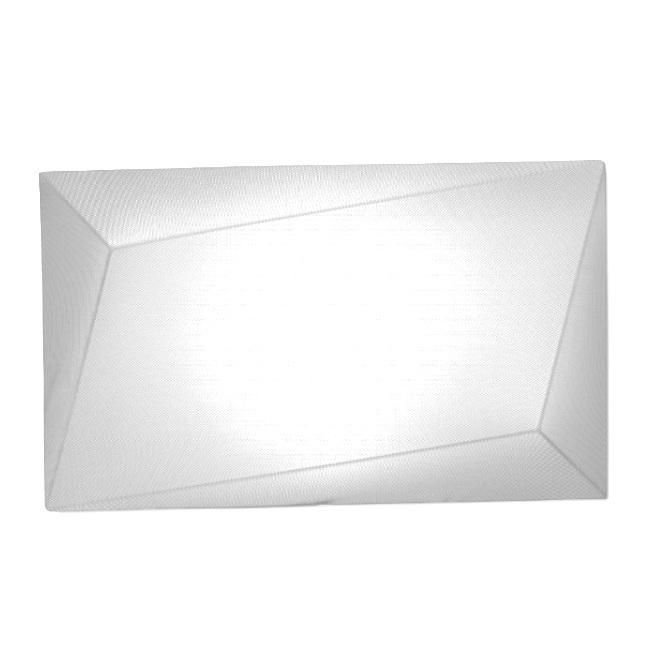 Applique ou Plafonnier rectangulaire Blanc Blanc L110cm UKIYO