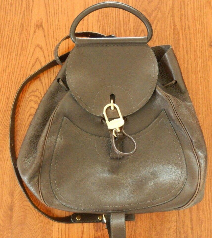 4db2e27c797 De nieuwe IT-BAG= de rugzak: mijn VINTAGE DELVAUX!!!! | My Bags ...