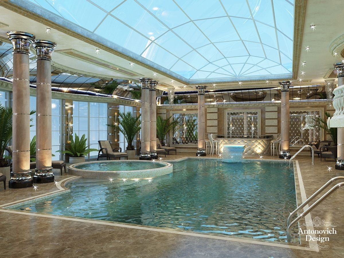 Everyone Loves Luxury Swimming Pool Designs Aren T They We Love To Watch Luxurious Swimming Pool P Indoor Pool Design Indoor Swimming Pool Design Pool Houses