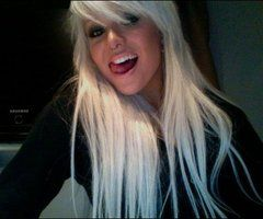 Web Cam Blonde