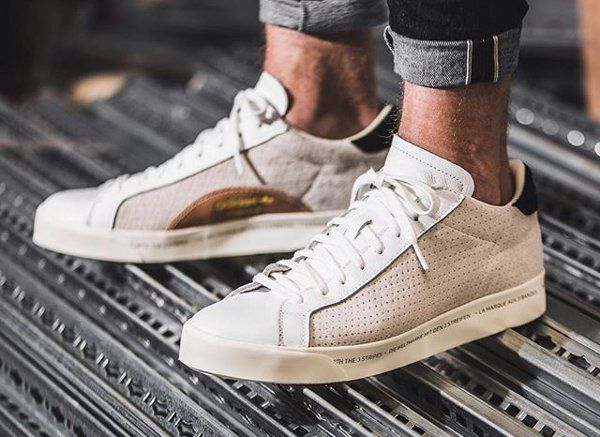 Adidas Rod Laver Remastered White | Baskets blanches