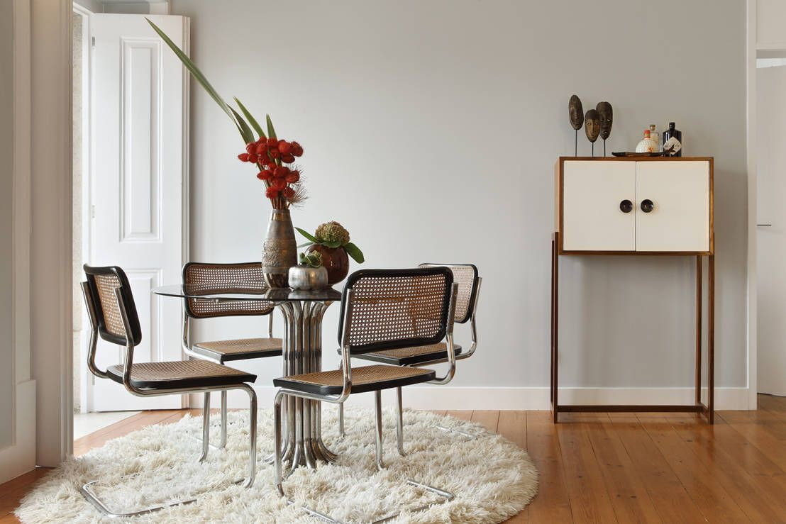 Sala da pranzo eclettica di Tiago Patricio Rodrigues, Arquitectura e Interiores