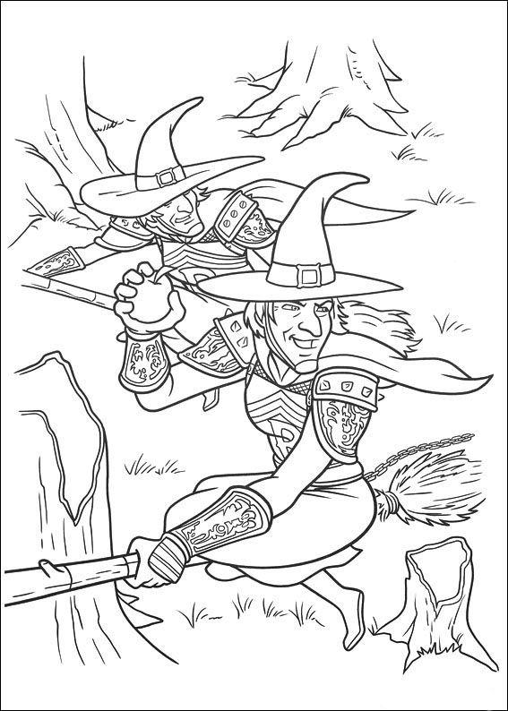 Dibujos para Colorear Shrek 110 | Dibujos para colorear para niños ...