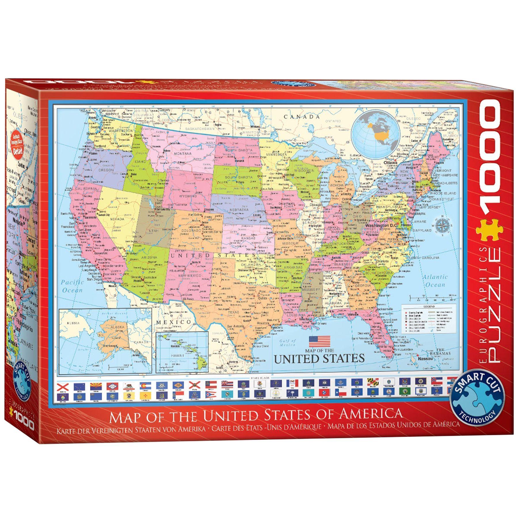 Usa Landkarte Puzzle Puzzle Usa Karte Und Landkarte