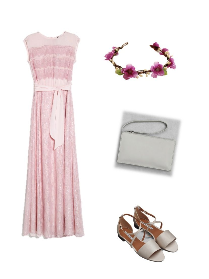 Looks For Wedding Guest Mango Dress Other Stories Sandals And