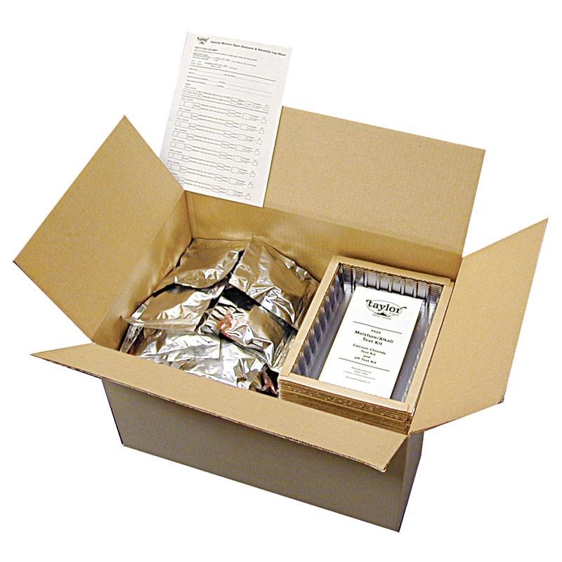 Taylor Tools 625.B CaCl Moisture Test Kit Bulk Kit