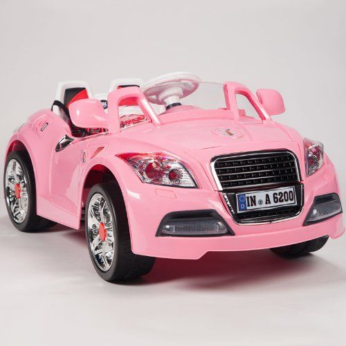 Ride On Car 12v Audi Style Kids Power Wheels W Mp3 Remote Control Pink Kids Ride On Toys Kids Power Wheels Power Wheels